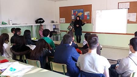 El Colegio Mercedes de Santander recibe la visita de los coordinadores de Admisión de UNEATLANTICO