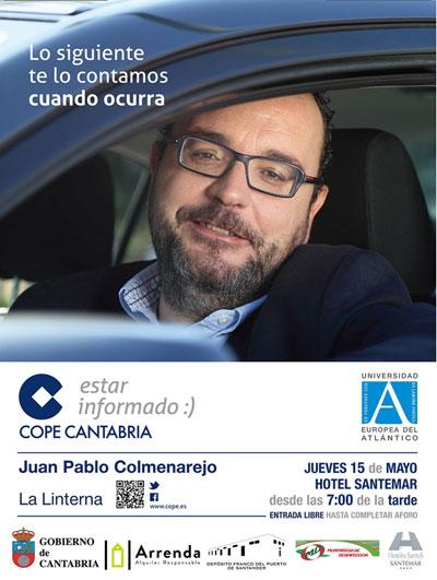 """UNEATLANTICO patrocina el jueves el programa de Cope """"La Linterna"""""""