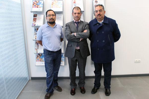La Universidad Europea del Atlántico recibe la visita del rector del Centro Panamericano de Estudios Superiores de México