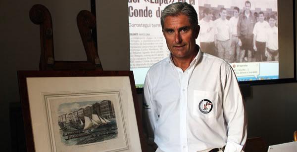 El armador César Obregón imparte una conferencia en el Real Club de Regatas de Santander