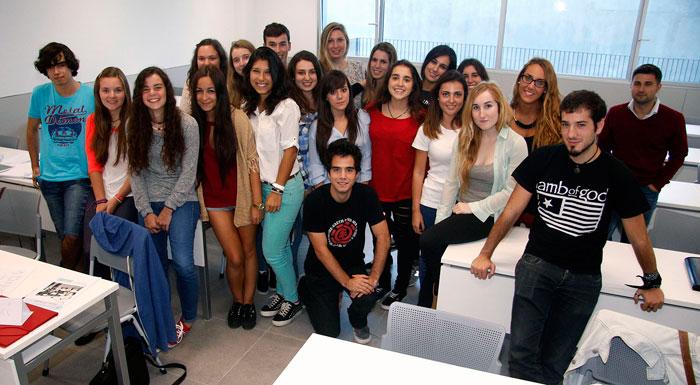 Los alumnos del grado de Traducción e Interpretación comparten sus clases con compañeros de otras titulaciones