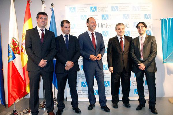 Ignacio Diego preside el acto de inauguración de las instalaciones de la Universidad Europea del Atlántico