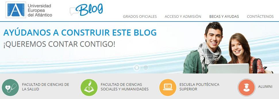 Nace el primer blog oficial de la Universidad Europea del Atlántico
