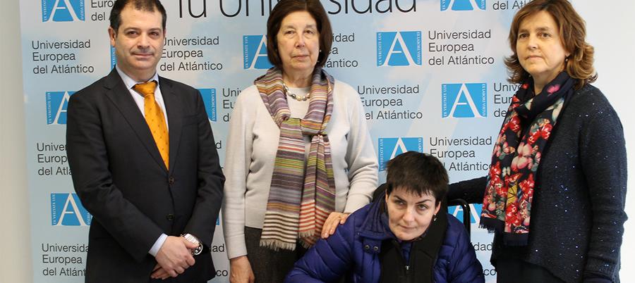 UNEATLANTICO firma un convenio con la Asociación AMICA
