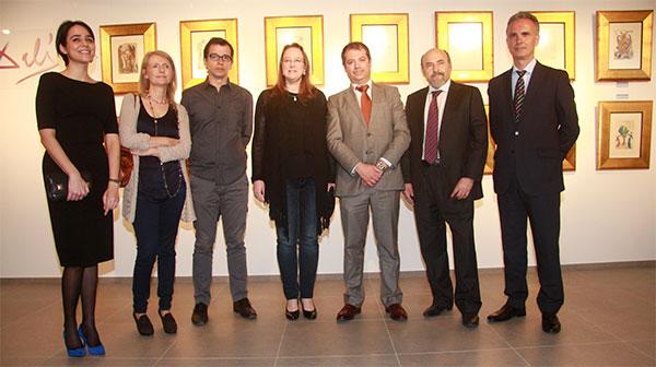 'La divina comedia' de Dalí inaugura la sala de exposiciones de la Universidad Europea del Atlántico