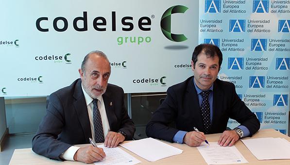 UNEATLANTICO firma un convenio de colaboración con el Grupo Codelse para aunar esfuerzos en I+D+i