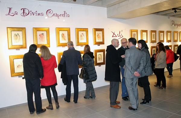 UNEATLANTICO prolonga la exposición 'La divina comedia' de Salvador Dalí hasta el 15 de julio