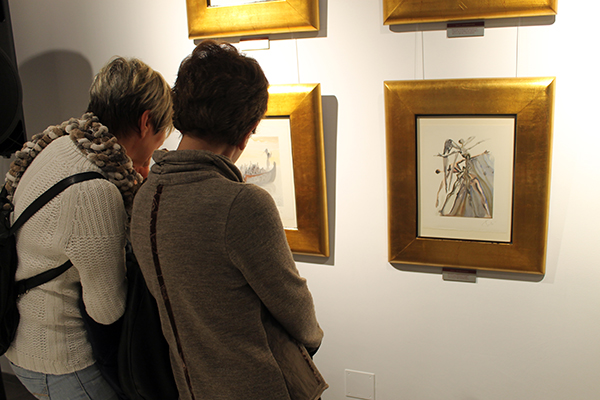 Último día para visitar la exposición de Dalí en UNEATLANTICO