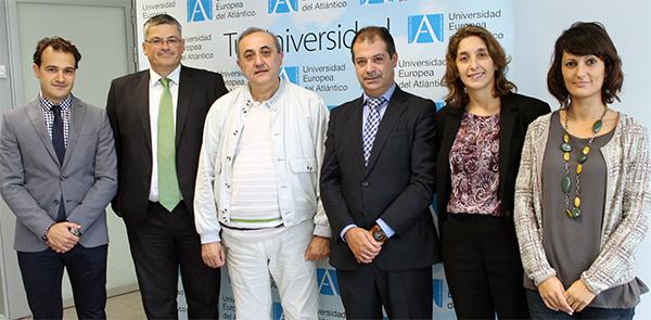 La Universidad Europea del Atlántico firma un convenio de colaboración con Sprode