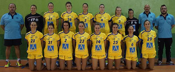La Universidad Europea del Atlántico patrocina las divisiones femeninas del Club Balonmano Pereda
