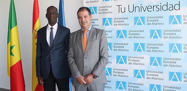 El exministro senegalés Mamadou Diop Decroix visita hoy las instalaciones de UNEATLANTICO