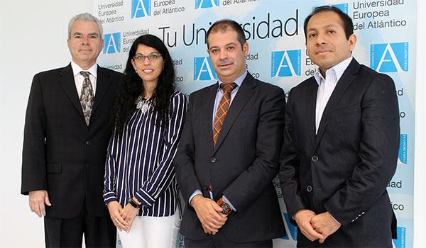 Representantes de la Universidad Científica del Sur (Perú) visitan las instalaciones de UNEATLANTICO