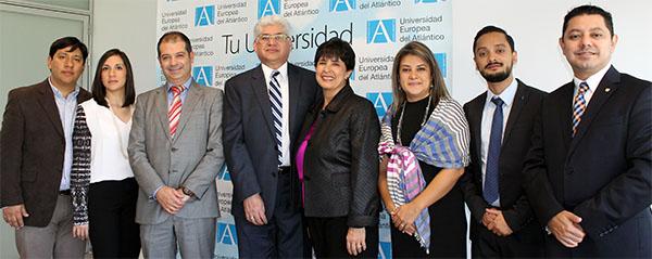 UNEATLANTICO y la Universidad Panamericana de Guatemala firman un convenio marco de colaboración educativa