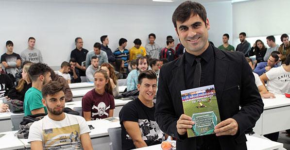 David Casamichana presenta nuevo libro en UNEATLANTICO