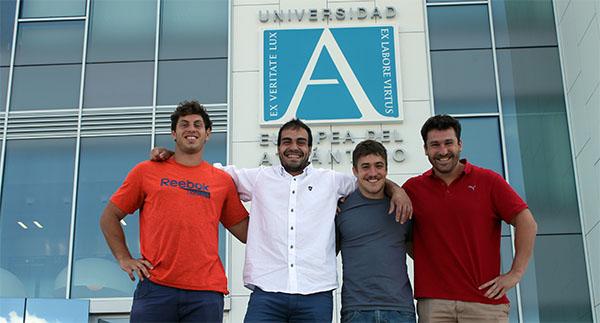La Universidad Europea del Atlántico firma un convenio de colaboración con el Bathco Rugby Club