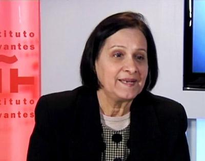 Ana María González en una foto de archivo