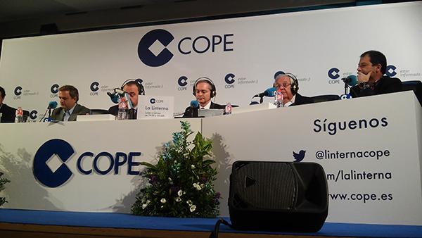 El rector explicó la consolidación de UNEATLANTICO en La Linterna de COPE