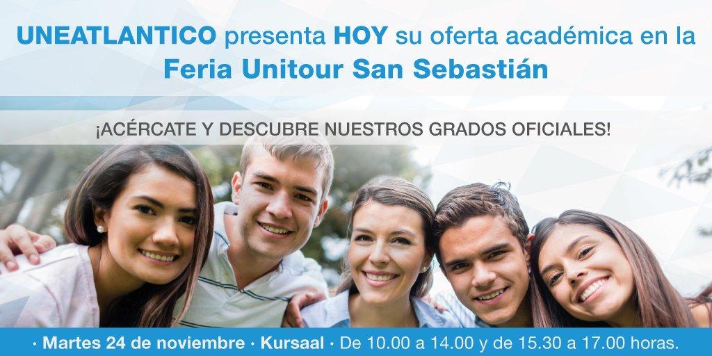 Hoy estamos a vuestra disposición en nuestro stand de la feria Unitour en el Kursaal de San Sebastián