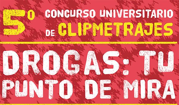 Abierto el plazo de inscripción para el 5º concurso universitario de clipmetrajes 'Drogas: tu punto de mira'