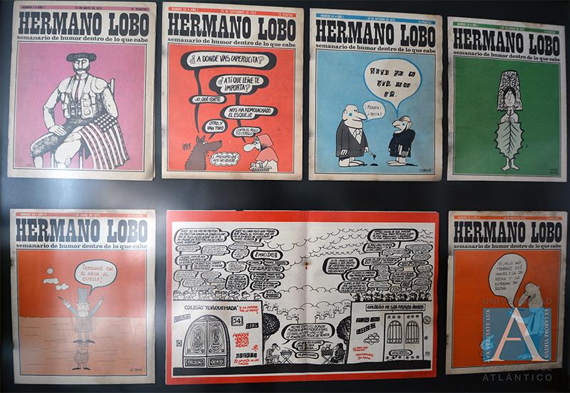 exposición de comics uneatlantico 4
