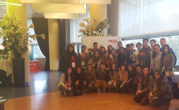 Alumnos del grado en Nutrición participaron en el  V Encuentro Escuela de Alimentación de la Fundación Eroski
