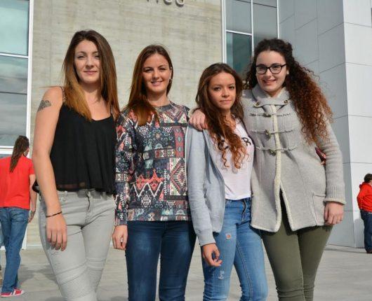 Alumnas de las Universidad Europea del Atlántico