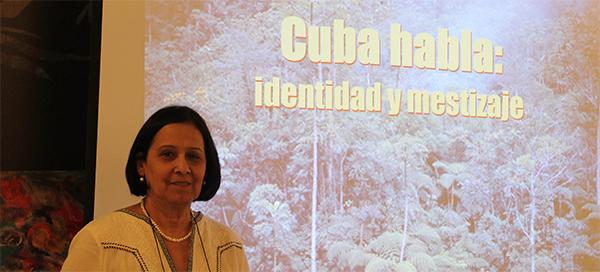 Académica de la Lengua imparte esta tarde en UNEATLANTICO la conferencia 'Cuba habla: identidad y mestizaje'