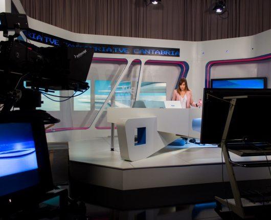 Plató de TVE en Cantabria