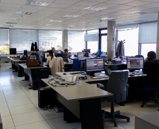 Redacción de TVE en Cantabria