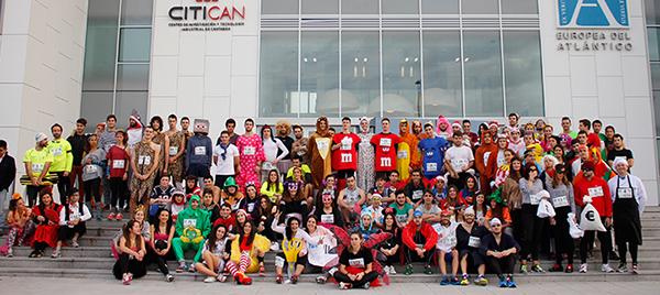 La II San Silvestre de UNEATLANTICO reunió grandes dosis de solidaridad, deporte y buen humor