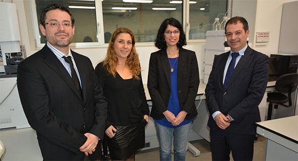 La directora general de Pesca y Alimentación visita el campus de la Universidad Europea del Atlántico