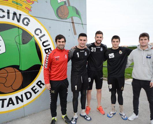 David Casamichana, Dani Sotres, Borja Granero, David Puras y Álvaro Peña