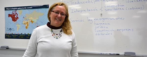 """Kim Griffin: """"Es importante que los alumnos de Traducción e Interpretación se acostumbren a trabajar bajo presión"""""""
