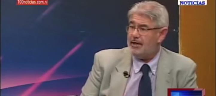 El Secretario general de UNEATLANTICO fue entrevistado en un programa de la televisión nicaragüense