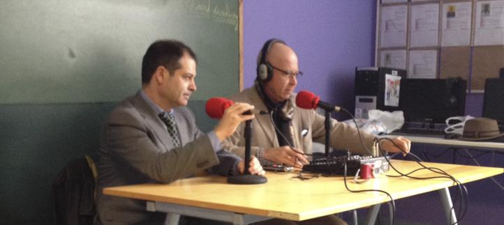"""El Rector fue entrevistado en el programa """"Los caminos de la vida"""", de la emisora Radio Jofré"""