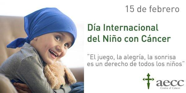 Imagen oficial del Día Internacional del Niño con Cáncer