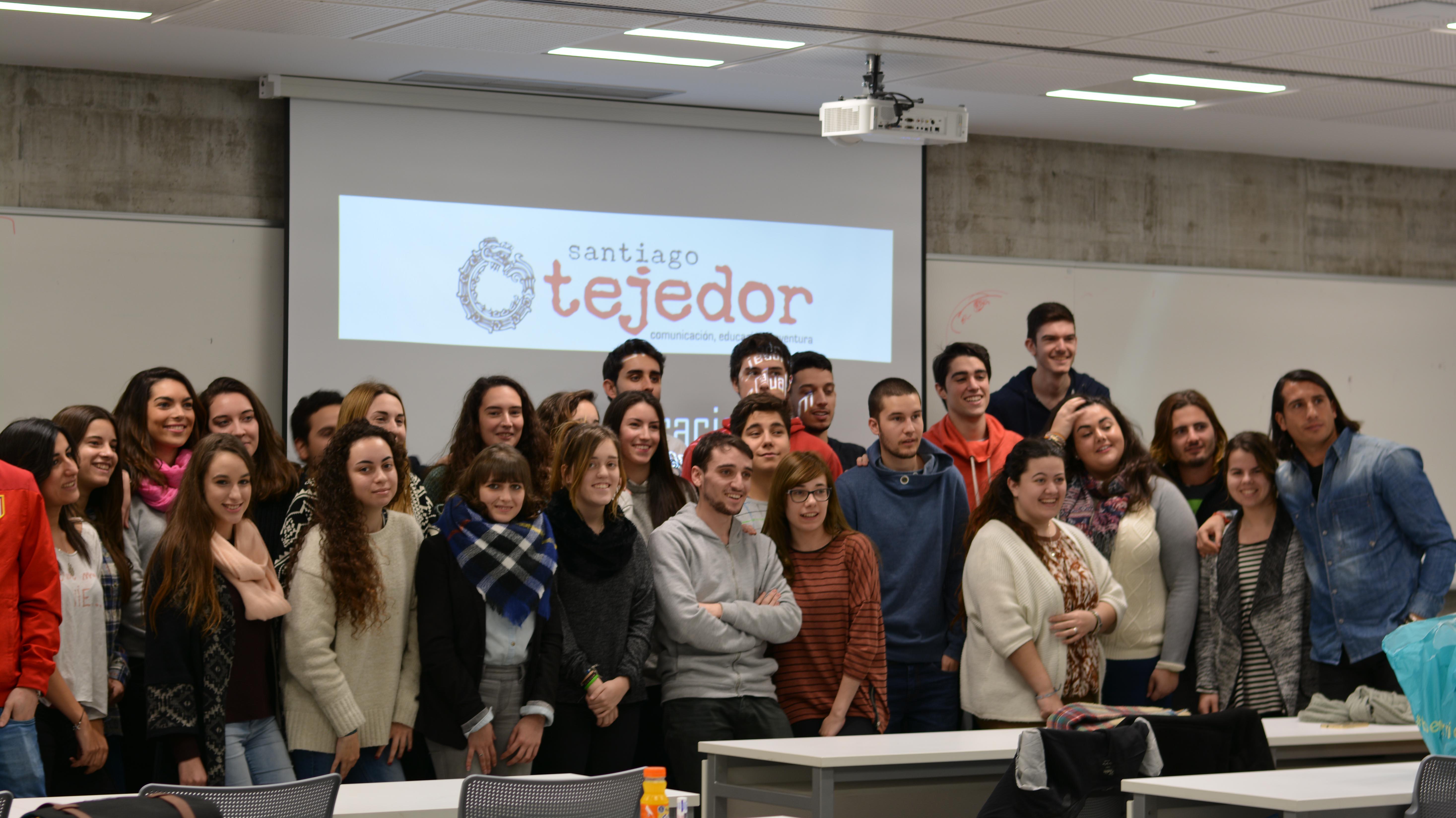 Santiago Tejedor- conferencia-alumnos