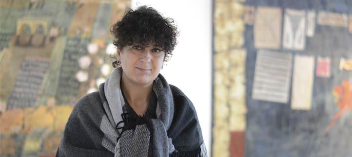 """La pintora Anna Tamayo presenta la exposición """"Colores en   mis bolsillos"""" en la Universidad Europea del Atlántico"""