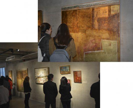 """Exposición Anna Tamayo """"Colores en mis bolsillos"""" Foto: David Ruiz Pernia"""
