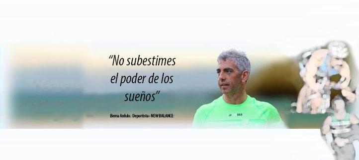 El atleta Berna Angulo ofrece el miércoles una conferencia sobre superación y consecución de objetivos
