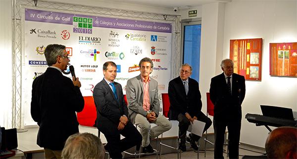 UNEATLANTICO acoge la presentación del IV Circuito de Golf de Colegios y Asociaciones Profesionales de Cantabria