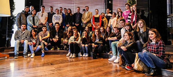 Estudiantes de Comunicación visitan Fraile & Blanco