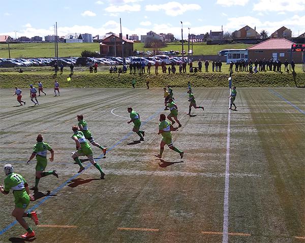 Victoria del Bathco Rugby Club en el Día de la Universidad Europea del Atlántico