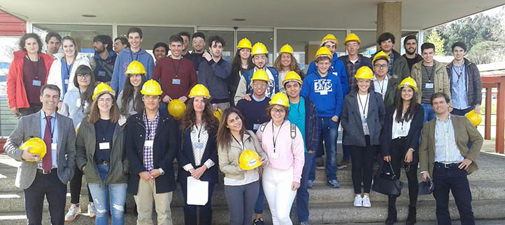 Estudiantes de UNEATLANTICO visitan Equipos Nucleares y observan diversos procesos de producción