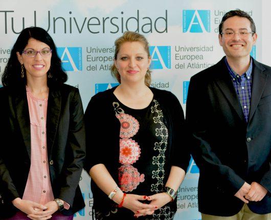 Sandra Sumalla, Susana Martínez-Flórez e Iñaki Elío