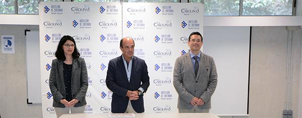 Clausura del curso de sumiller celebrado en el marco del convenio entre UNEATLANTICO y Hostelería de Cantabria