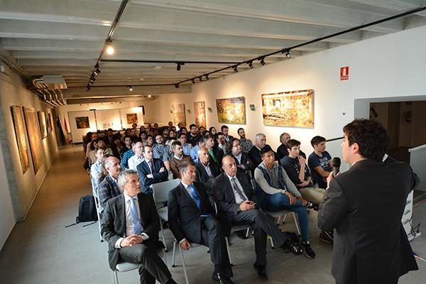 Asistentes a la jornada tecnológica organizada por El Diario Montañés en UNEATLANTICO