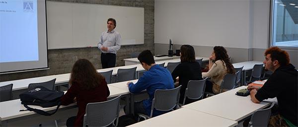 Jornadas de orientación profesional para los alumnos de Psicología de la Universidad Europea del Atlántico