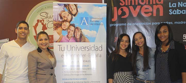 La Universidad Europea del Atlántico impulsó el premio Sintonía Joven en veinticinco colegios dominicanos