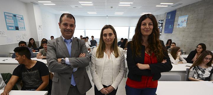 Sodercan presentó a los estudiantes el proyecto Erasmus de Jóvenes Emprendedores en empresas de la Unión Europea